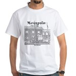 Metropolis Superman White T-Shirt