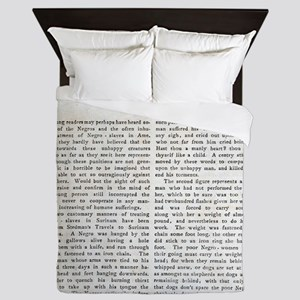 Punishment of Slaves text - Queen Duvet