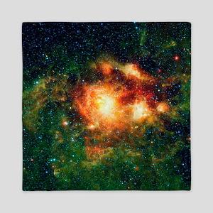 Star-birth region, space telescope image - Queen D