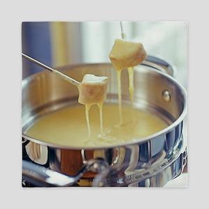 Cheese fondue - Queen Duvet