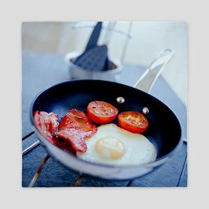 Fried breakfast - Queen Duvet