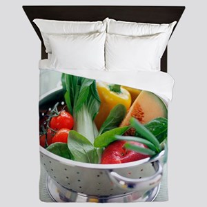 Fruit and vegetables - Queen Duvet