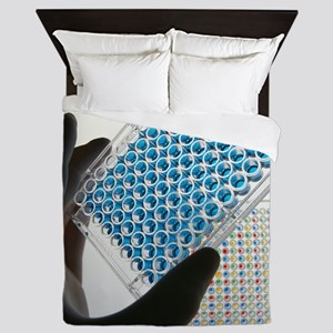 ELISA test plate - Queen Duvet
