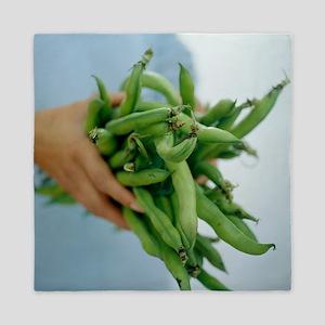 Green beans - Queen Duvet
