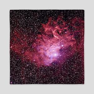 Flaming Star Nebula - Queen Duvet