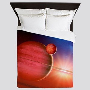 Gas giant around a young star - Queen Duvet