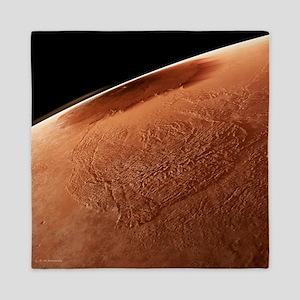 Olympus Mons, Mars - Queen Duvet