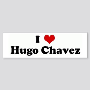 I Love Hugo Chavez Bumper Sticker