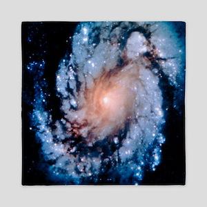 Post-servicing HST image of M100 galaxy - Queen Du