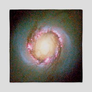 Star birth in galaxy NGC 4314 - Queen Duvet