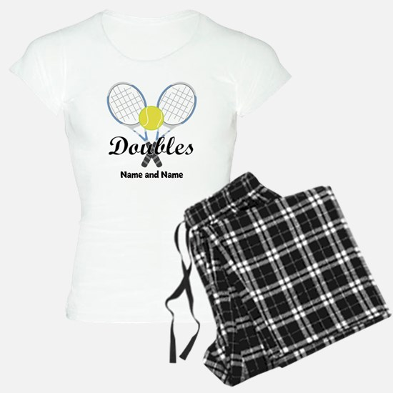 Personalized Tennis Doubles Pajamas