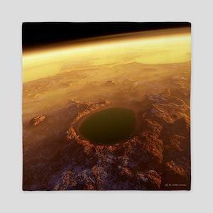 Water on Mars - Queen Duvet