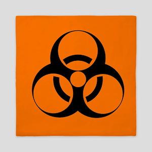 Biohazard sign - Queen Duvet