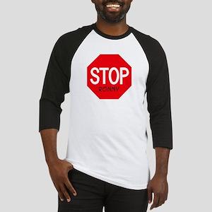 Stop Ronny Baseball Jersey