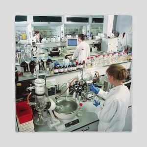 Chemistry laboratory - Queen Duvet