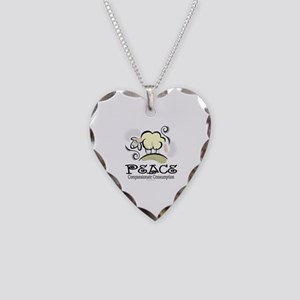 Animal Compassion Necklace Heart Charm