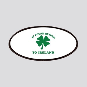 If found return to Ireland Patches