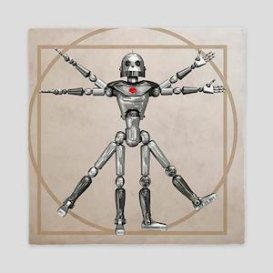 Robot, artwork - Queen Duvet