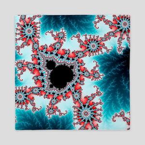 Mandelbrot fractal - Queen Duvet