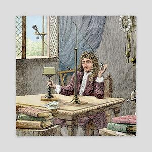 Christiaan Huygens, Dutch physicist - Queen Duvet