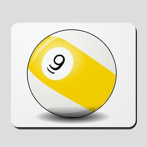 Nine Ball Mousepad