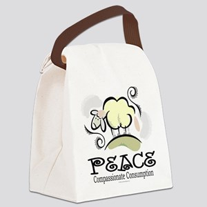 Animal Compassion Canvas Lunch Bag
