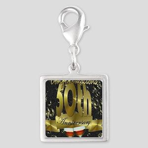 50th anniversary congradulations Silver Square Cha