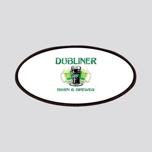 Dubliner Ireland born and brewed Patches