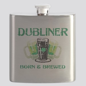 Dubliner Ireland born and brewed Flask