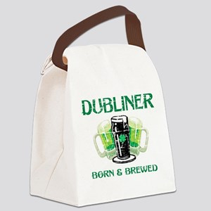 Dubliner Ireland born and brewed Canvas Lunch Bag