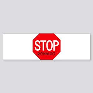 Stop Ronaldo Bumper Sticker