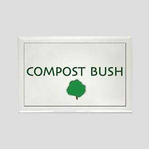 Compost Bush Rectangle Magnet