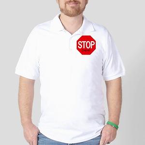 Stop Jabari Golf Shirt