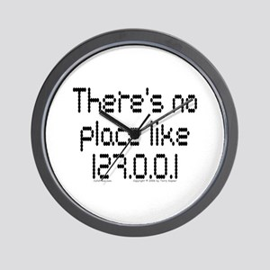 Home (dots) Wall Clock