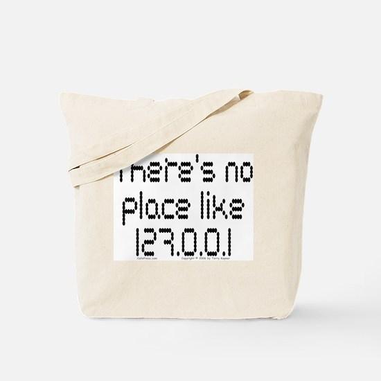 Home (dots) Tote Bag