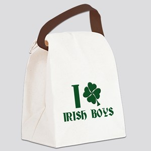 I love Irish boys Canvas Lunch Bag