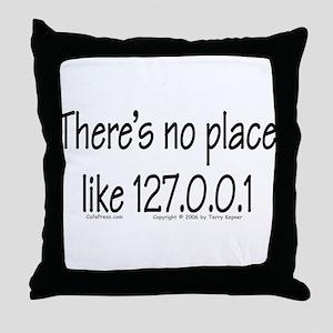 Home (text) Throw Pillow