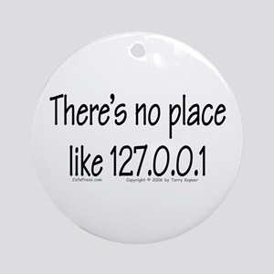 Home (text) Ornament (Round)