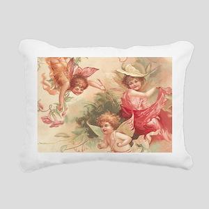 Cupid Angel 3 Rectangular Canvas Pillow