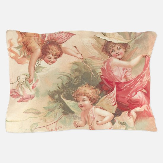 Cupid Angel 3 Pillow Case