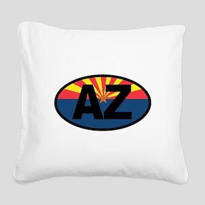 Arizona Square Canvas Pillow
