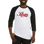 Khan name Baseball Jersey