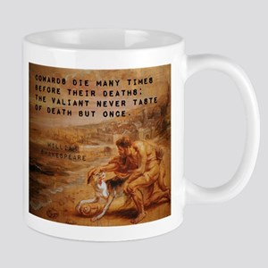 Cowards Die Many Times - William Shakespeare 11 oz