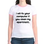 Clean Apart. Jr. Ringer T-Shirt