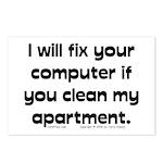 Clean Apart. Postcards (Package of 8)