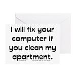 Clean Apart. Greeting Cards (Pk of 10)