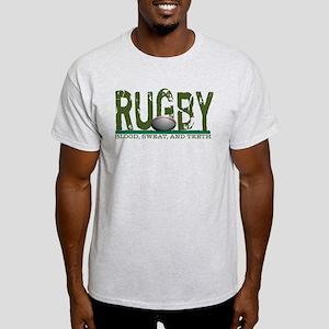 Rugby Blood Sweat Teeth Light T-Shirt