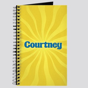 Courtney Sunburst Journal