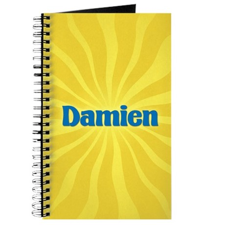 Damien Sunburst Journal
