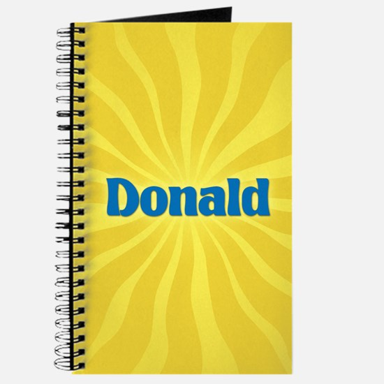 Donald Sunburst Journal